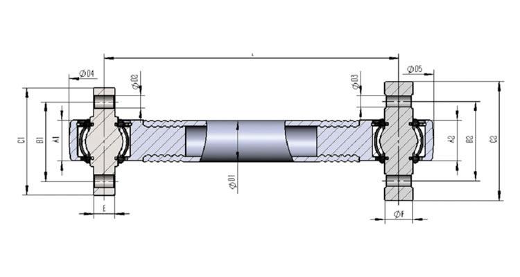 聚氨酯推力杆总成